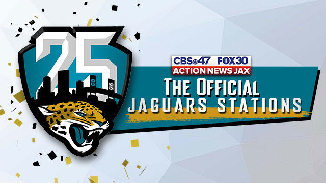 JAGUARS OFFICIAL STATIONS: CBS47 and FOX30 announce 4-year agreement to remain Official Stations of the Jacksonville Jaguars