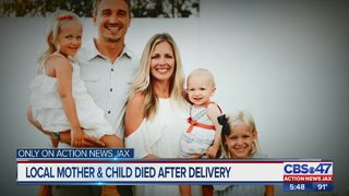 St. Augustine dad whose wife, newborn died after delivery:
