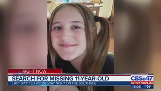 Jacksonville police searching for missing 11-year-old