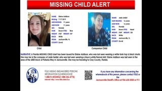 FDLE Missing child alert for 11-year-old girl