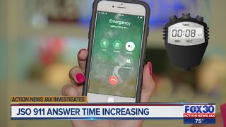 JSO 911 answer time increasing