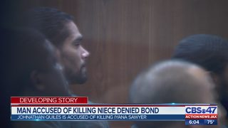 Man accused of killing niece denied bond