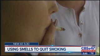 Using smells to quit smoking
