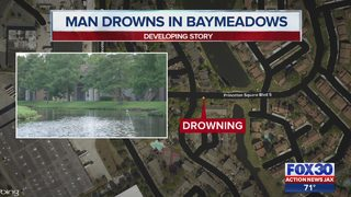 JSO, dive team search ponds for drowning victim