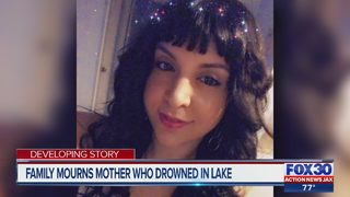 Family mourns loss of mother of two after drowning