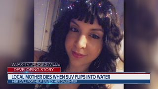 Local mother dies when SUV flips into water