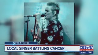 Local singer battling cancer
