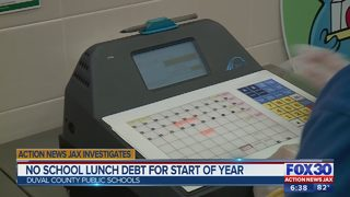 No school lunch debt for start of year