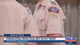 Thieves steal from local boy scout troop