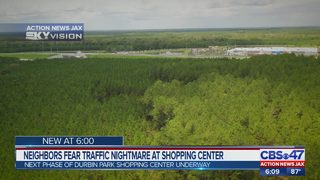 Neighbors fear traffic nightmare at shopping center