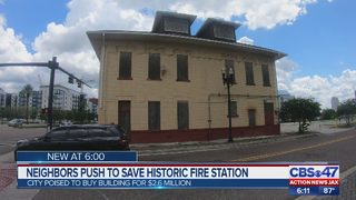 Neighbors push to save historic fire station
