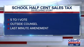 School Half Cent Sales Tax