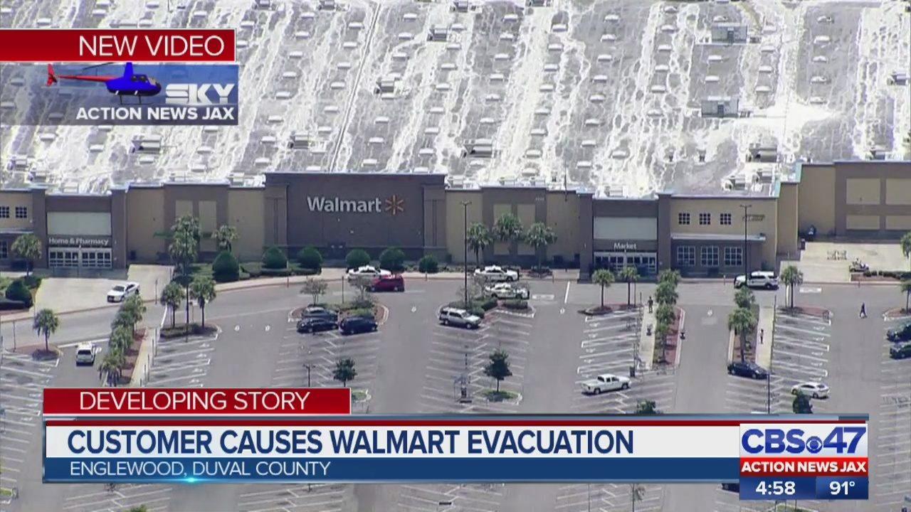 sports shoes e5f93 b83b7 Jacksonville Walmart on Philips Highway evacuated, JSO ...