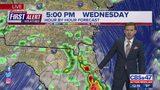 First Alert Forecast: Wednesday, August 14 - Noon