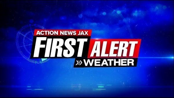 JACKSONVILLE WEATHER: First Alert Weather: Tracking rain and a few storms today
