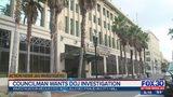 Councilman wants DOJ investigation