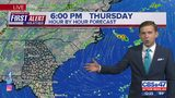 First Alert Forecast: Thursday, August 22 - Noon