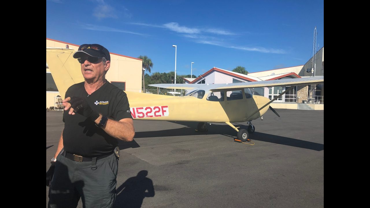 MISSING FIREFIGHTERS: Florida pilot won't give up looking for missing firefighters even after Coast Guard suspends search