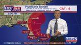 Hurricane Dorian 5 p.m. update: Dorian still expected to make sharp northward turn