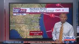 Hurricane Dorian 9 p.m. update: Cat. 2 Dorian moves northwest