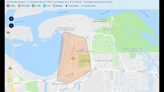Power restored to over 1,000 after power outage in area of