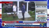Action News Jax checks in with woman who plastic wrapped home for Dorian