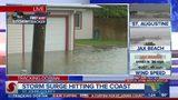 Flooding in Davis Shores as Dorian passes Jacksonville