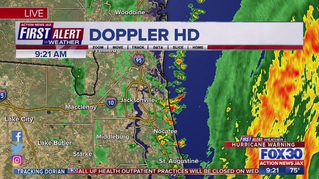 HURRICANE DORIAN JACKSONVILLE IMPACTS: Hurricane Dorian heads toward Florida - ActionNewsJax.com