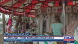 St. Augustine Carousel to be dismantled Monday