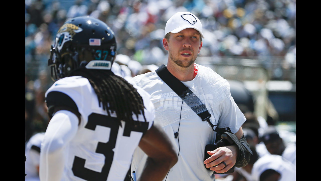Jaguars upset defensive lineman not fined for Foles hit, ESPN reports