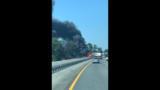 A multi-vehicle crash has caused a vehicle fire that is blocking all lanes on I-75 southbound before the 441 exit. The Florida Highway Patrol has confirmed one person has died. The crash involved three tractor trailers and a passenger car, FHP said.
