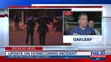 Officials give update on homecoming incident