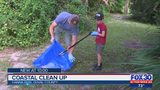 Coastal clean up in Hanna Park