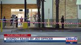 Suspect killed by JSO officer