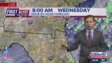 First Alert Forecast: Tuesday, October 8 - Noon
