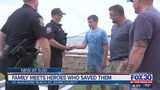 Family meets heroes who saved them in St. Augustine
