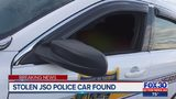 Stolen JSO marked police car located
