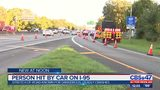 Person hit by car on on stretch of road known for dangerous, deadly crashes
