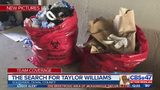Taylor Williams: Bags outside Southside apartment
