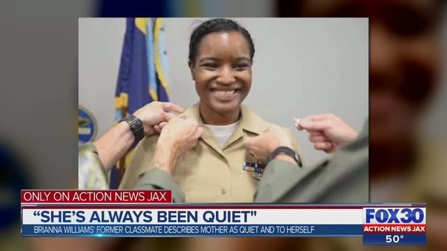 TAYLOR WILLIAMS JACKSONVILLE: Classmate of Taylor Williams' mother: 'She's not the same person she was in high school' - ActionNewsJax.com