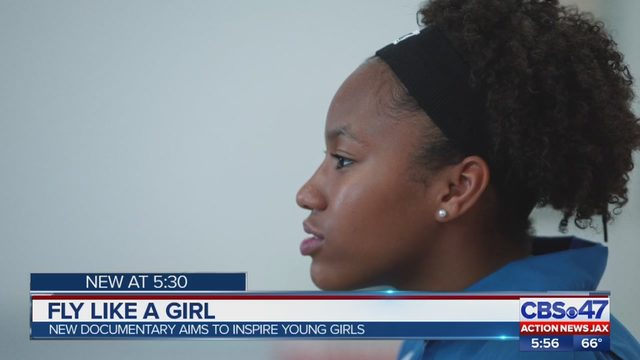Jacksonville student featured in documentary that inspires young girls into aviation careers - ActionNewsJax.com