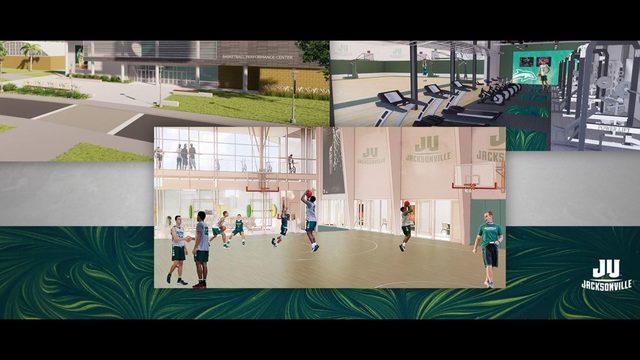 Jacksonville Athletics announces plans to build basketball performance center - ActionNewsJax.com