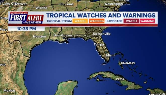 Tropical Watches and Warnings